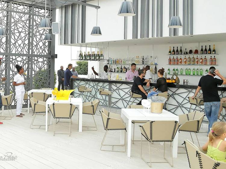 Take in the views from Skybar 25