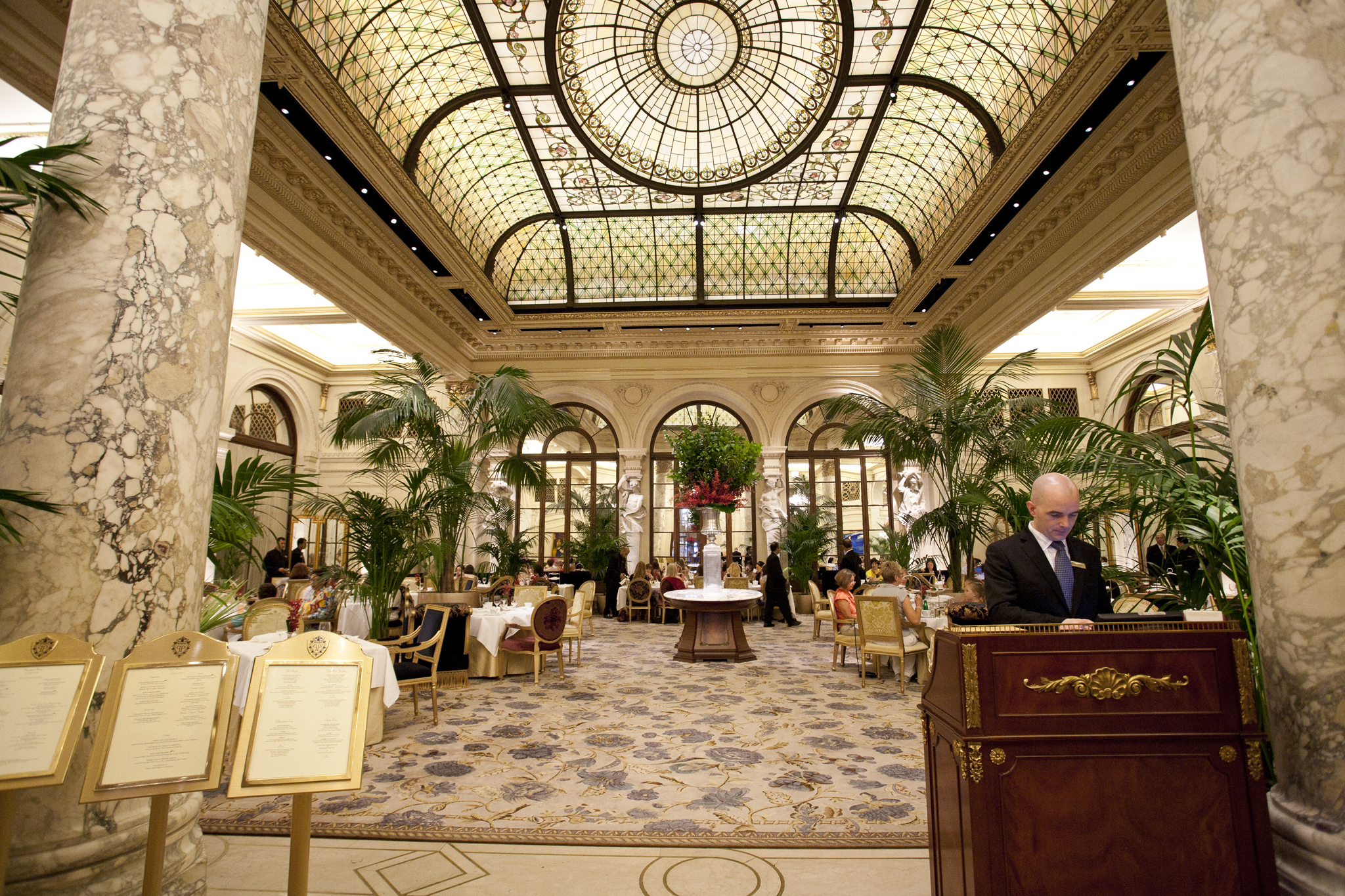 The Palm Court at The Plaza