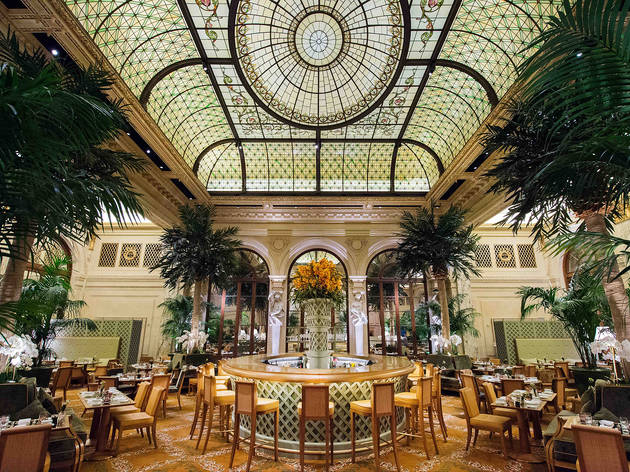 The Plaza's Palm Court is hosting Broadway-inspired afternoon tea