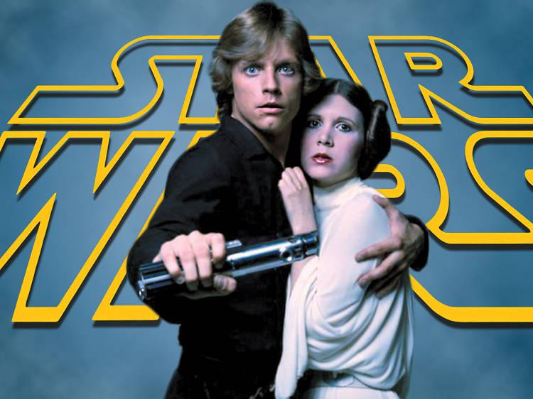 La familia Skywalker: Luke y Leia