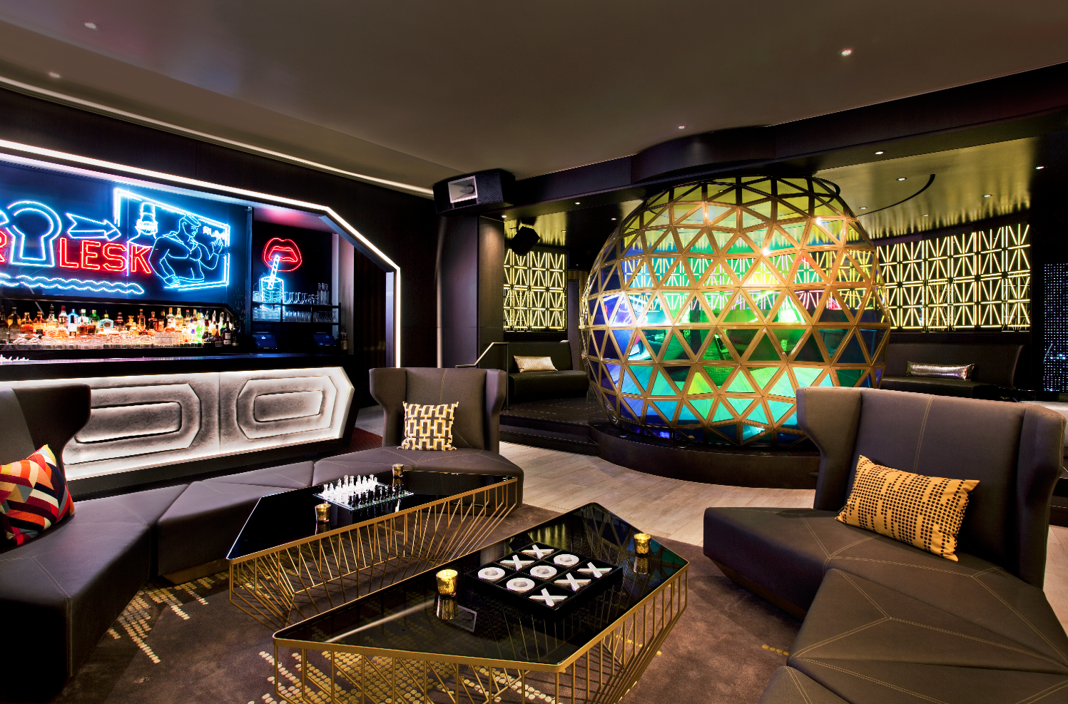 The Living Room at the W | Bars in Midtown West, New York