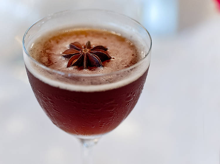 The Winter Waltz by Chris Hannah, French 75, New Orleans