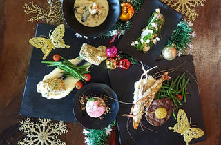 Crab Factory Christmas set dinner