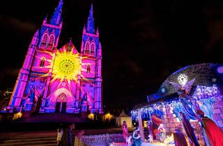 The 2014 Lights of Christmas at St Marys Cathedral Sydney