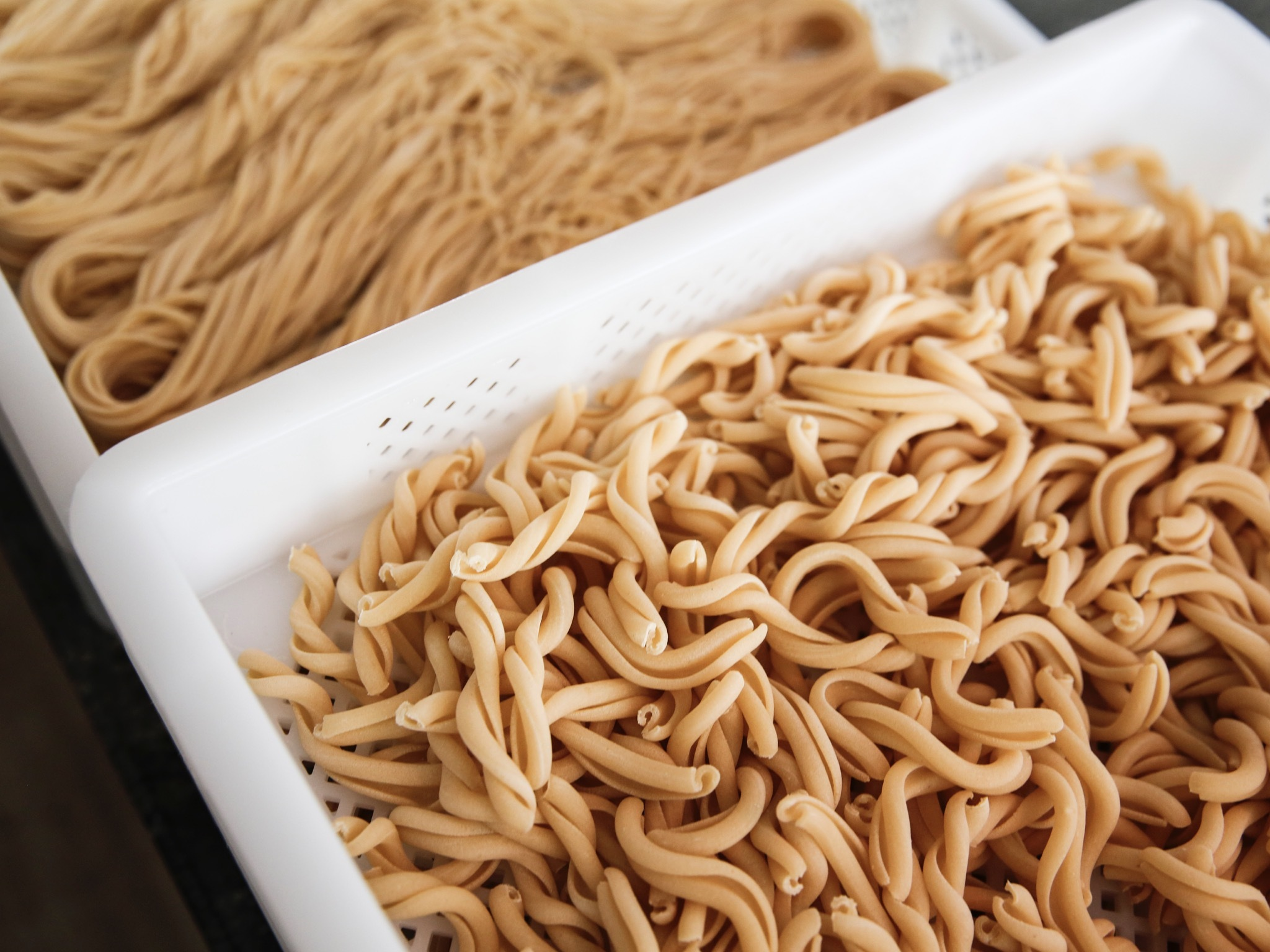 Freshly made varieties of pasta