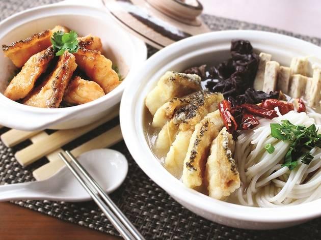 Pearl grouper at Zuan Yuan