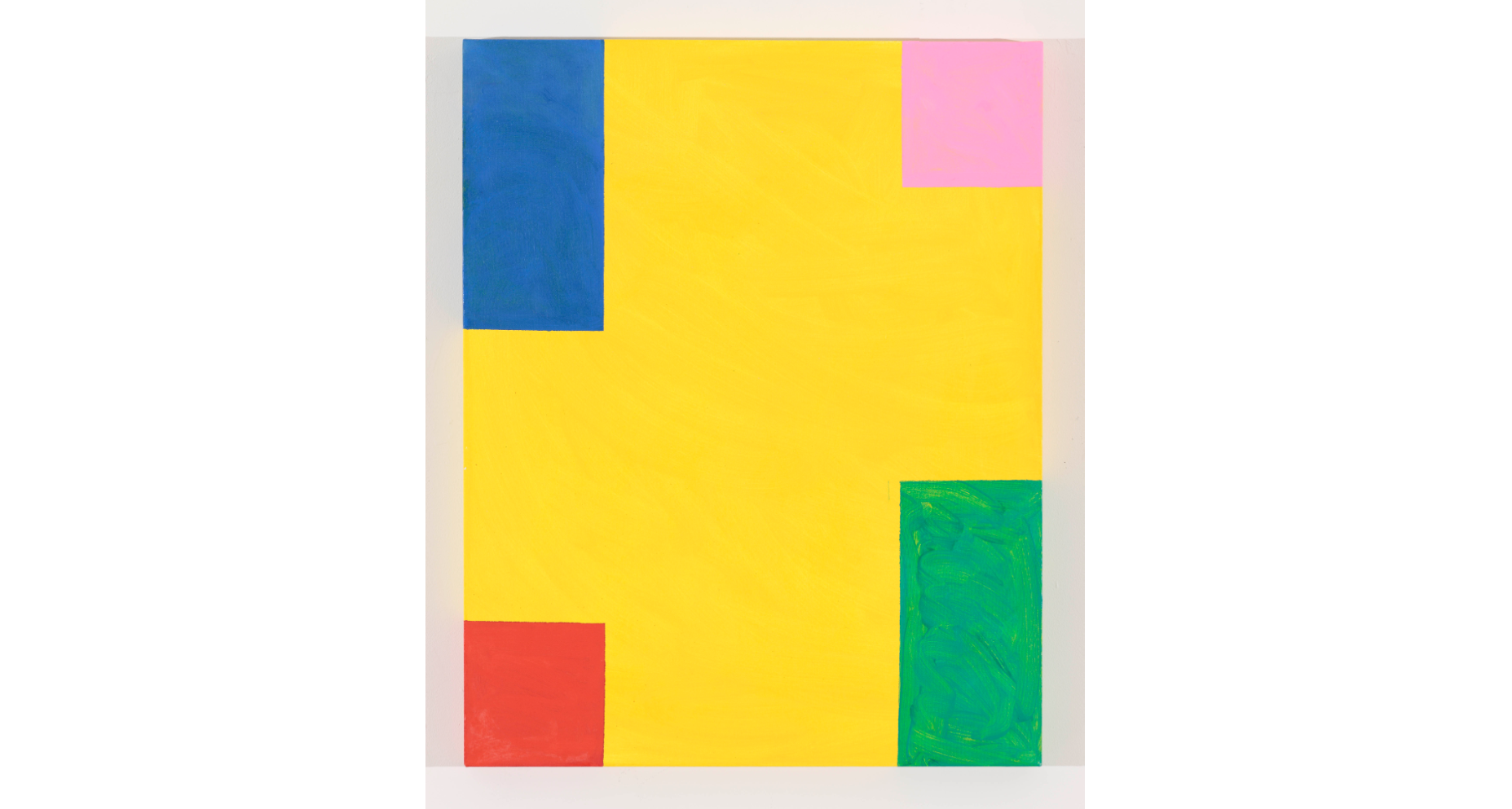 (Mary Heilmann: 'Taste of Honey', 2011. ©Mary Heilmann. Photo: Thomas Müller)
