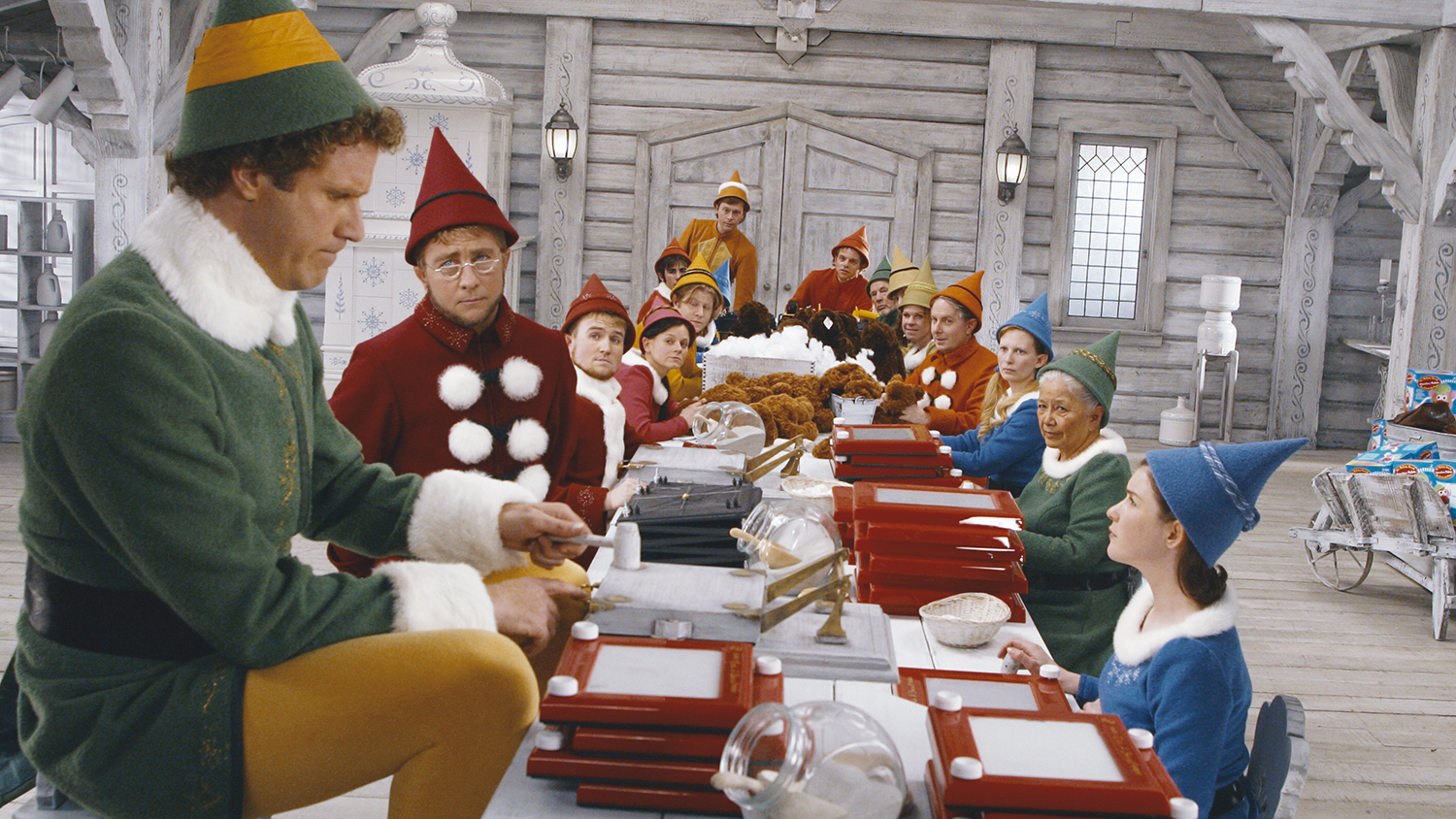 Christmas movie screenings for families in NYC