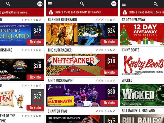Theater discount app TodayTix launches Chicago beta