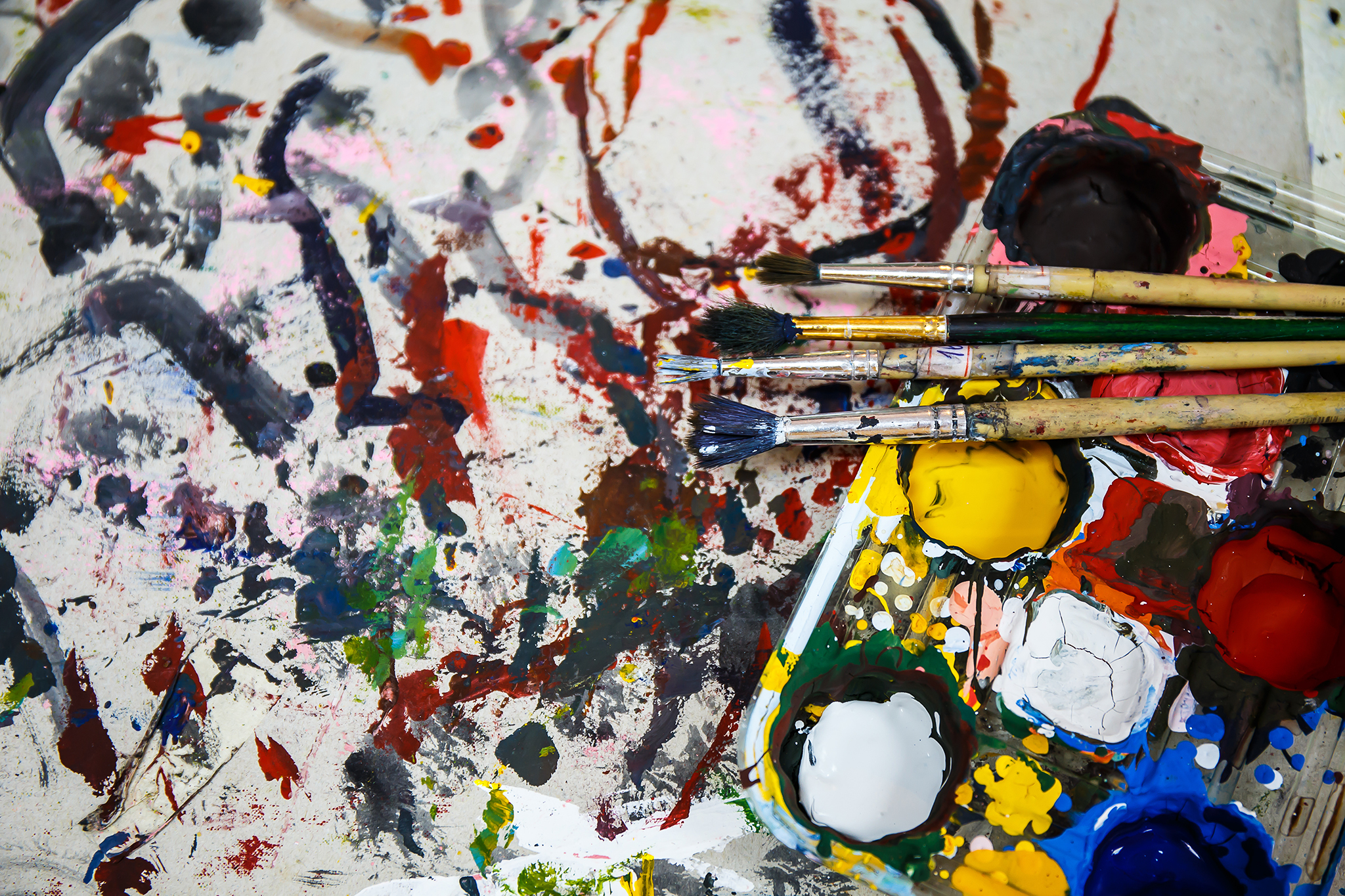 Creative chaos at Artjamz