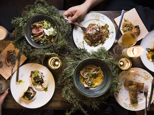 Where to eat Christmas dinner in NYC