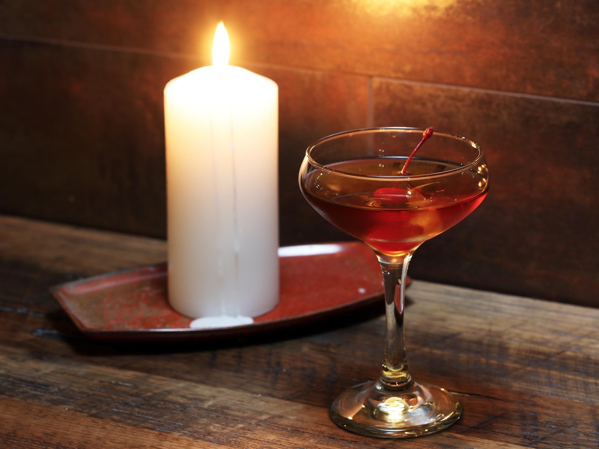 Cocktail at Saint Crispin
