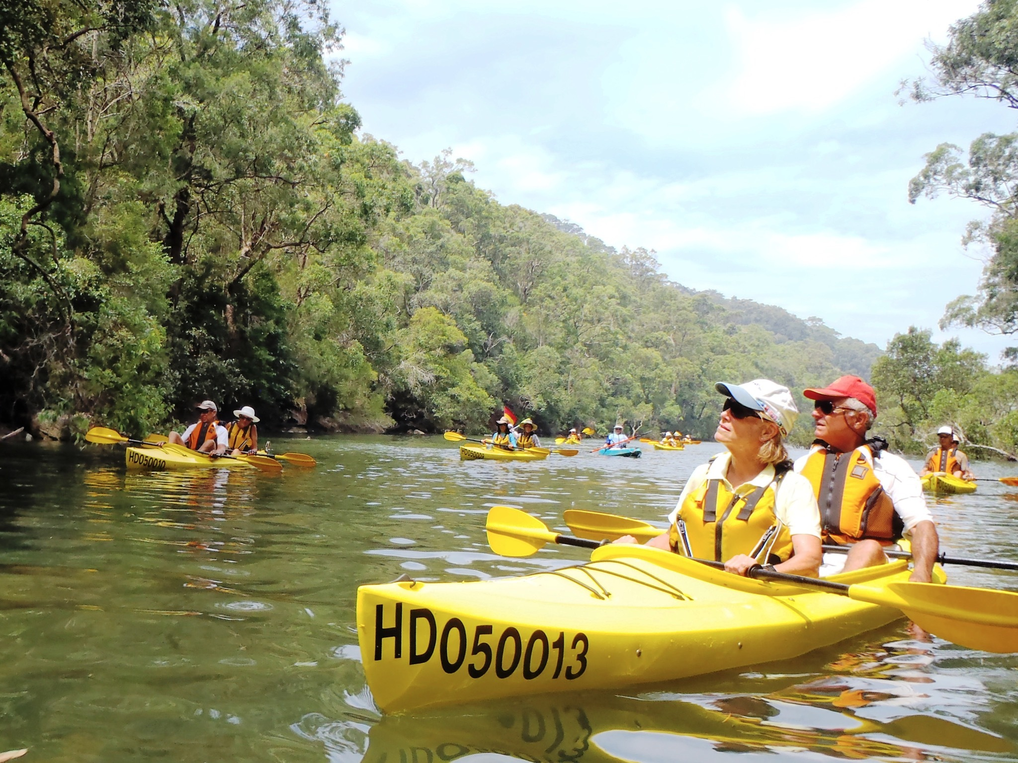 The best kayaking spots in Sydney
