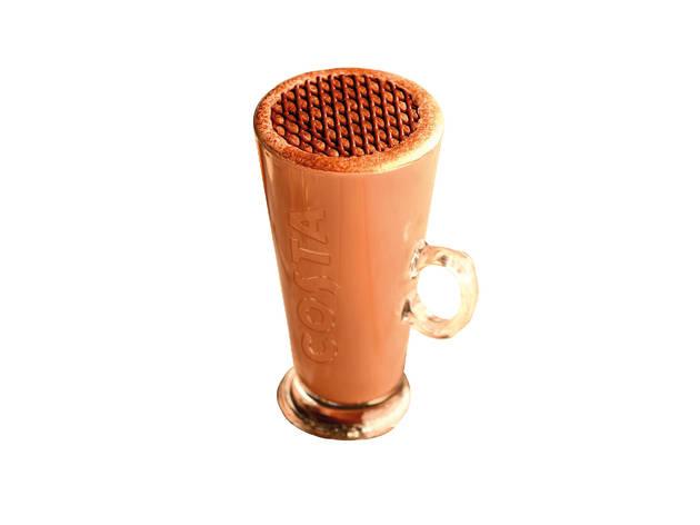 Costa caramel fudge hot chocolate