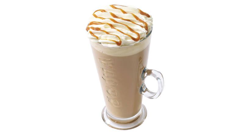 Costa sticky toffee latte