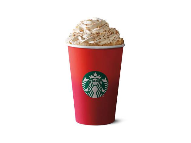 Starbucks toffee nut latte
