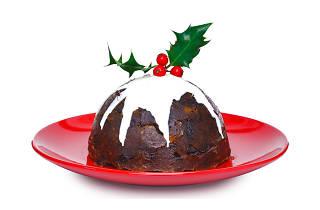 christmas food, christmas pudding