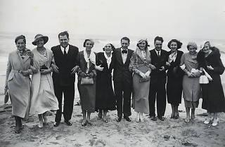 Participants al concurs de Miss Europa de visita a Sitges, 1933 © afb / Pérez de Rozas