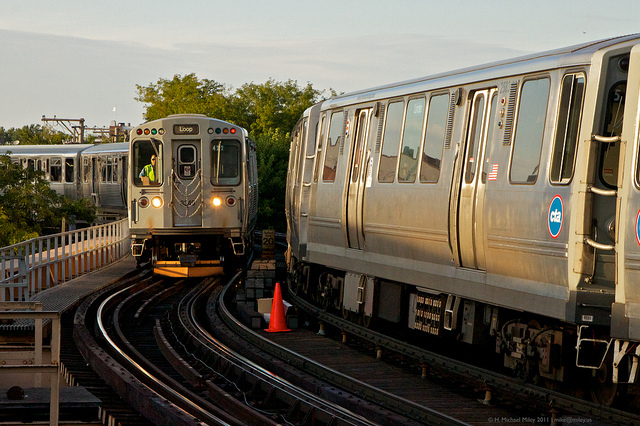 2015 was a record year for CTA train ridership