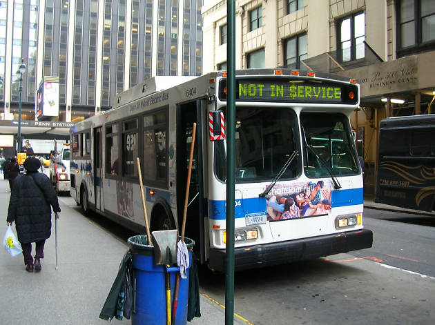 The slowest moving bus in New York goes insanely slower than you think