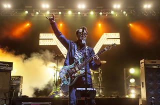 Weezer at Burgerama 2015