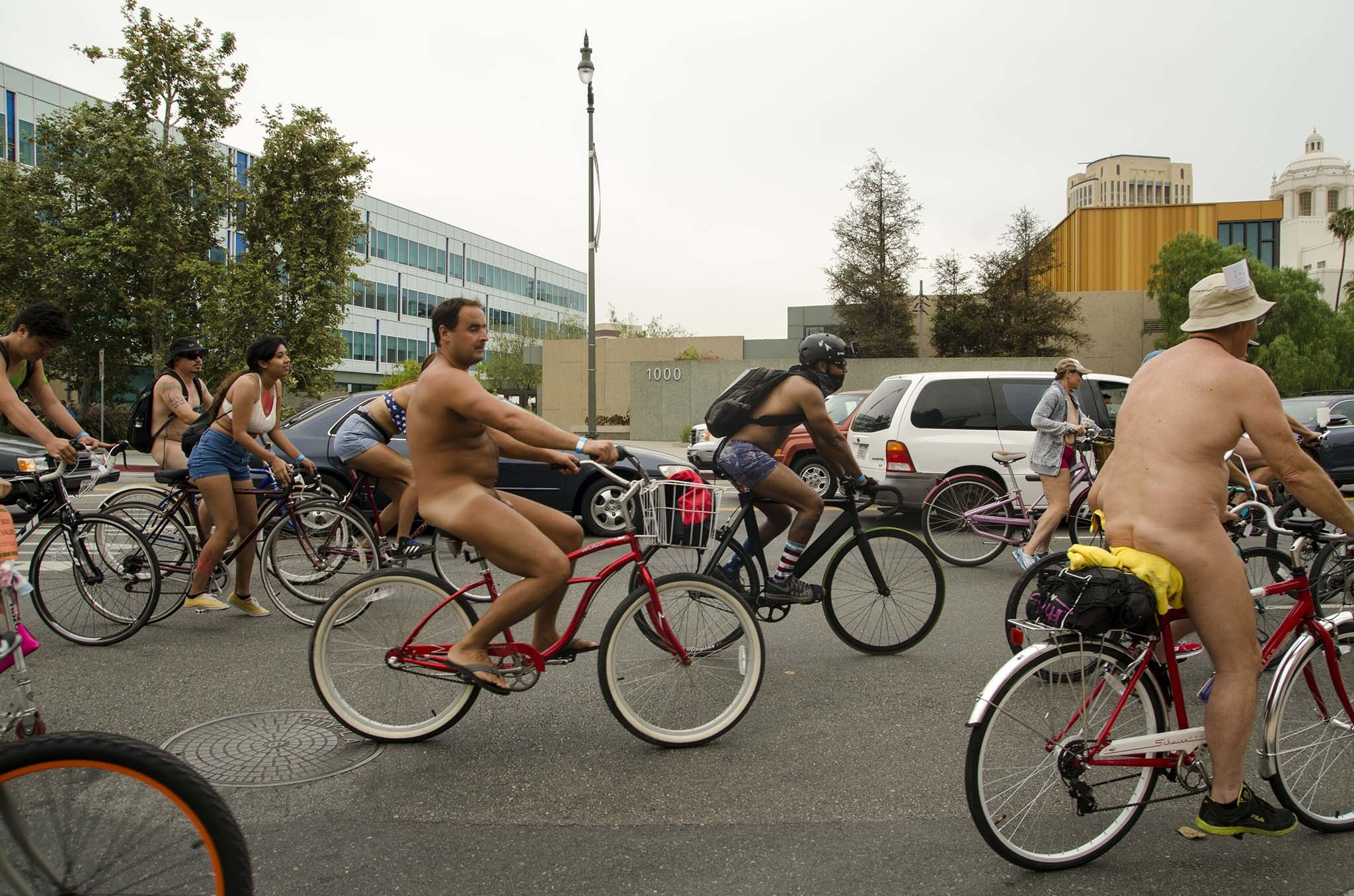 World Naked Bike Ride 2015