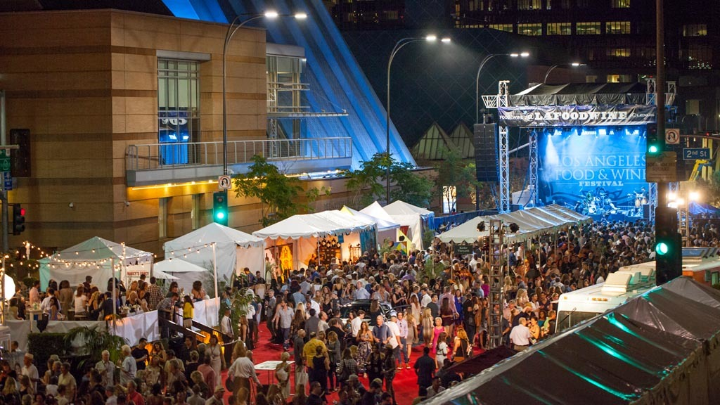 Los Angeles Food & Wine Festival 2015