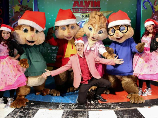 Alvin and The Chipmunks Christmas concert