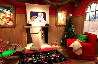 ¡La casa de Papá Noel en Madrid!
