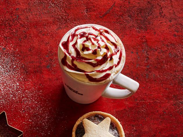 Caffe Nero winter berry latte