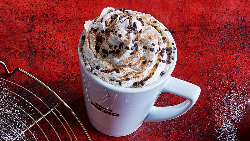 Caffe Nero spiced orange latte