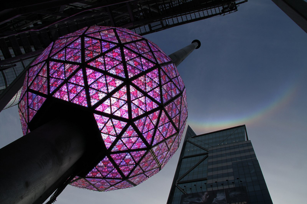 Check out these beautiful balls (the Times Square ball drop, that is)