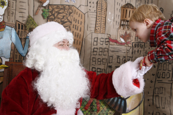 Where to see Santa Claus in New York City 2012