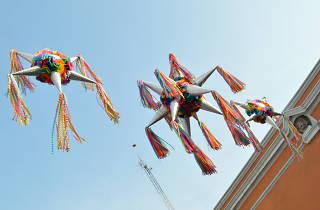 Posadas y tradiciones mexicanas. Luces de invierno