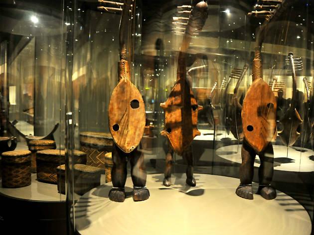 Río Congo, artes de África Central en el Museo Nacional de Antropología