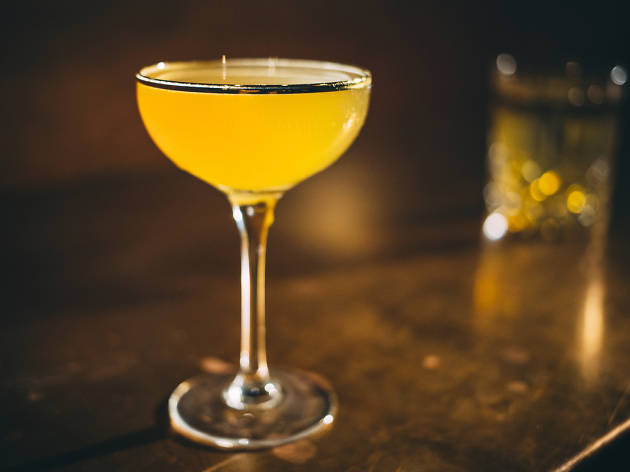 A night at Milk Room, the 8-seat rare spirits bar in the Chicago Athletic Association