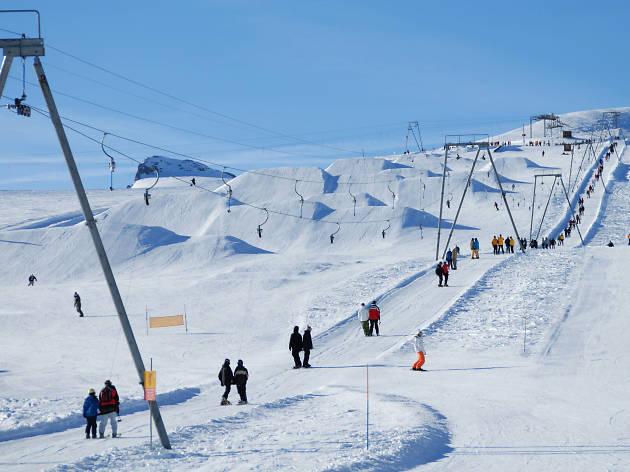 Glacier snowpark, Gstaad