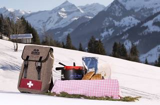 Fondue backpack, Gstaad