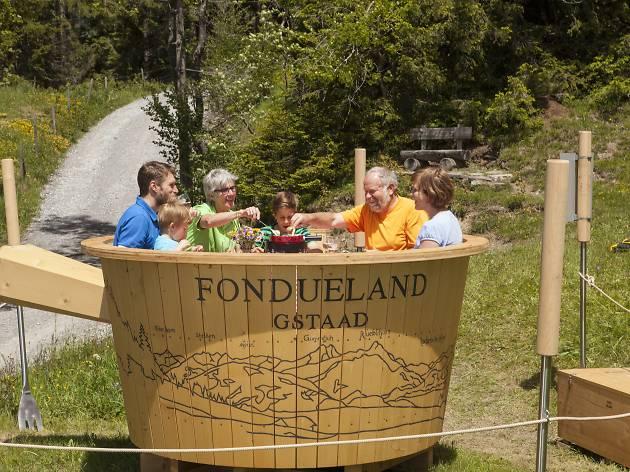 Fondueland, Gstaad