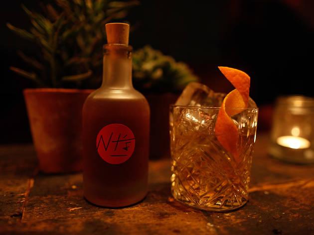 Night tales cocktail bar