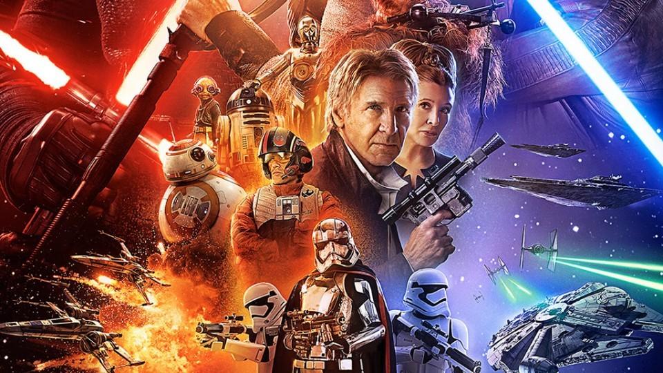 Baño y cine al aire libre: Star Wars. El despertar de la fuerza