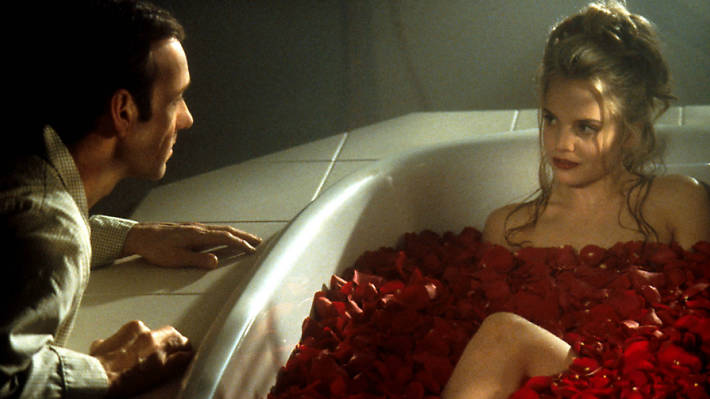 American Beauty, Kevin Spacey, Mena Suvari