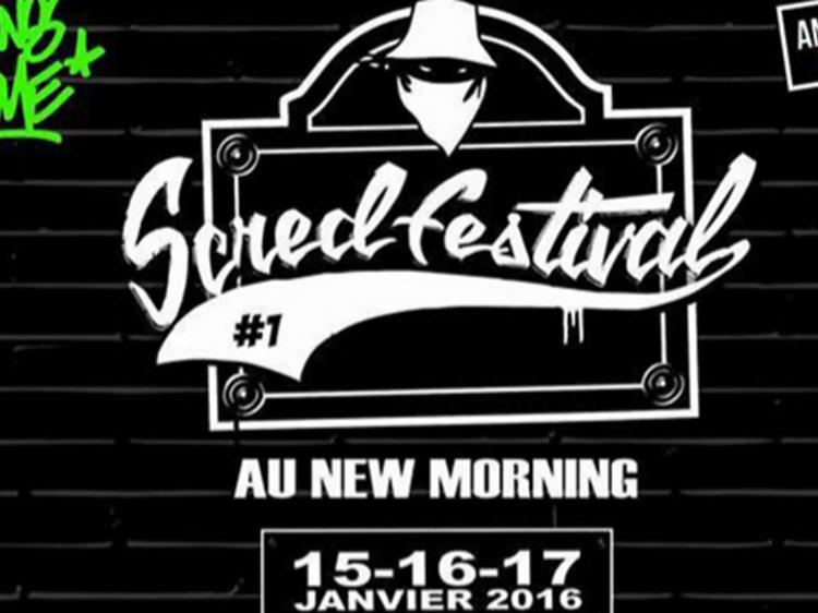 Le rap français à l'honneur avec le Scred Festival