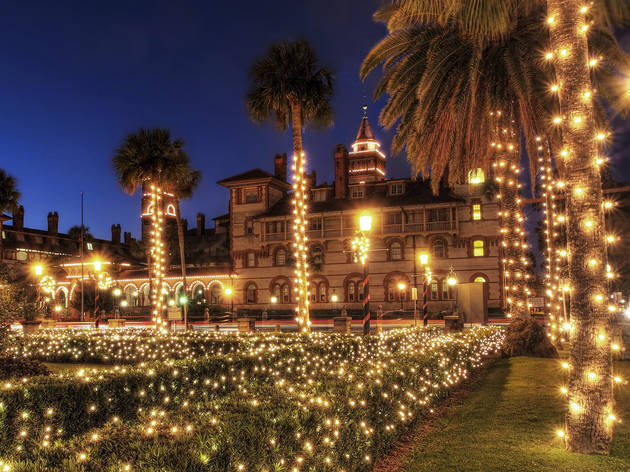 Nights of Lights in St. Augustine, Florida