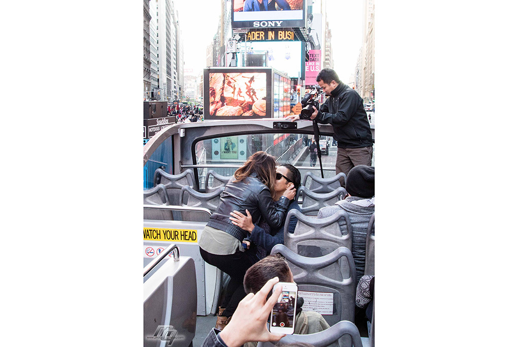 The Ride, Times Square