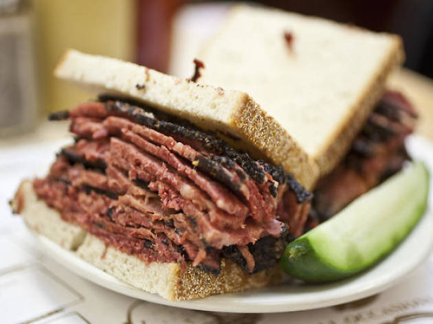 Katz's Deli (Photograph: Virginia Rollison)