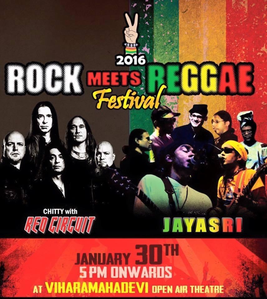 Rock Meets Reggae Music In Sri Lanka