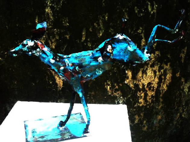 Exhibition of sculpture: Sanjaya Geekiyanage
