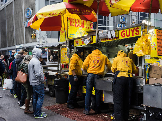 Halal Guys on 53rd and 6th