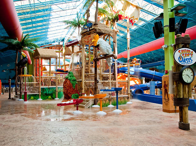 Saraha Sam's Indoor Outdoor Water Park